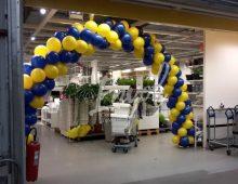 Arche en ballons galeries marchandes