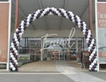 Arche géante en ballons Anniversaire magasin Nantes