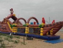 Parcours gonflable multi activité