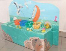Pêche à la ligne thème Mer
