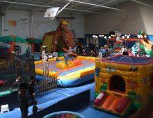 Parc de jeux gonflable indoor