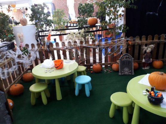 L'atelier sculpture sur citrouille d'Halloween pour vos animations commerciales