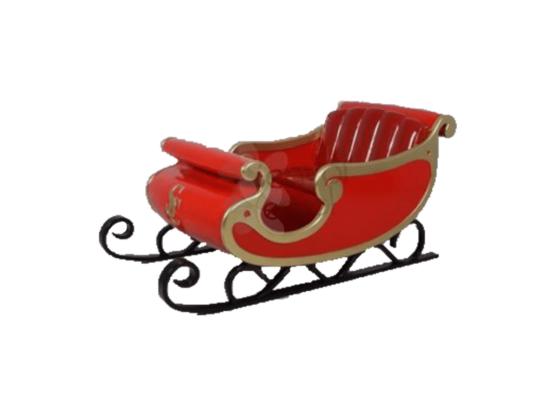 location d cor de no l tra neau du p re no l or et rouge. Black Bedroom Furniture Sets. Home Design Ideas