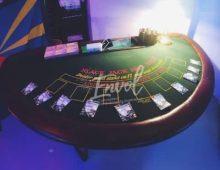 Jeux d'argent factice, soirée casino