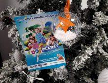 Atelier créatif de Noël - Boule de Noël Prénom Enneigée