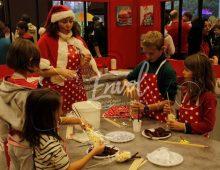 Atelier bricolage de Noël, renne de Noël en pop corn