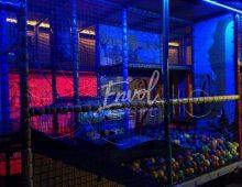 cage ouistitis de nuit avec jeux de lumière