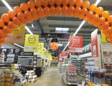 decoration ballons pour magasin