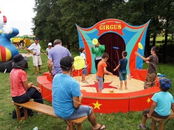 Atelier cirque pour enfants