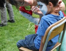 maquillage avec animatrice