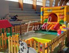 espace enfants, plaine de jeux
