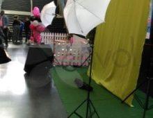 studio photo événementiel fond vert