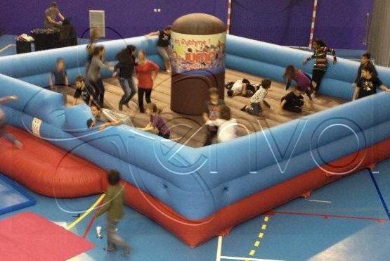 La Disco Jump, une piste gonflable pour animer les boums pour enfants