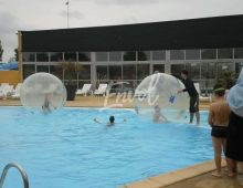 Les Bulles gonflables sur eau