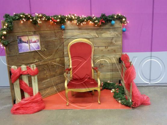 décor pour Père Noël