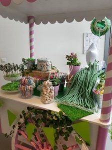 animation commerciale candy bar