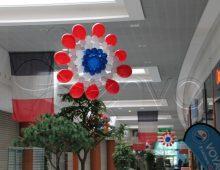 décoration de magasin en ballons