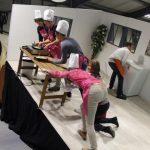 Team building cooking sur scéne penchée ENVOL