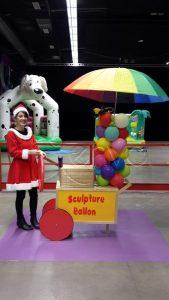 animation sculpture de ballons noël