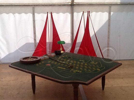 Location table de roulette casino
