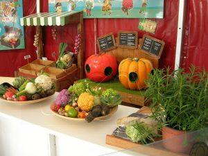 atelier du jardin à la cuisine