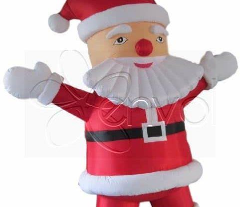Décoration Père Noël gonflable