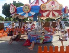 Carrousel des chaises volantes camping