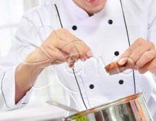 Team Building défi cooking sur scène penchée
