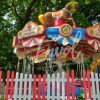 Le carrousel des chaises volantes pour enfants
