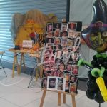 Les panneaux pour l'animation maquillage enfants