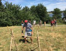 teambuilding Challenge aventuriers nature envol evenements - parcours à l'aveugle