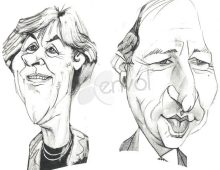 Découvrez nos artistes caricaturistes, silhouettistes, portraitistes pour vos événements
