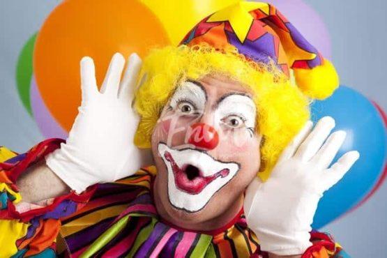 Clowns comiques spectacle