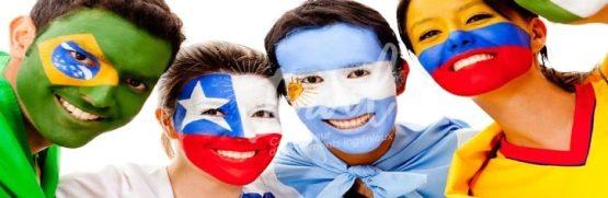 Des supporters avec un magnifique Maquillage Euro 2016