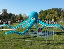 décor géant en ballons