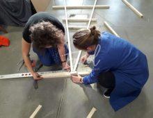 Team building jeux équipe création carton & course ENVOL