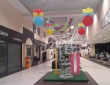 décoration ballon anniversaire de magasin