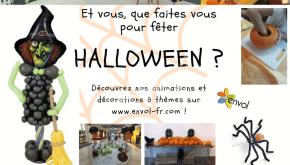 Idées d'animations pour halloween !