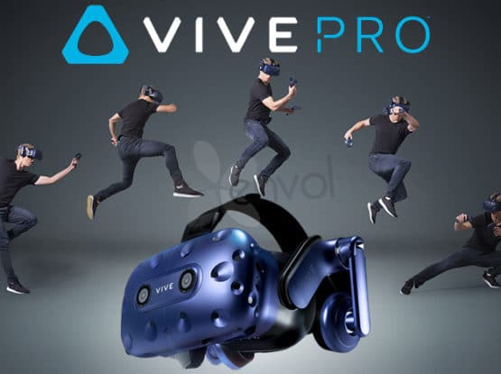 Animation réalité virtuelle htc vive pro