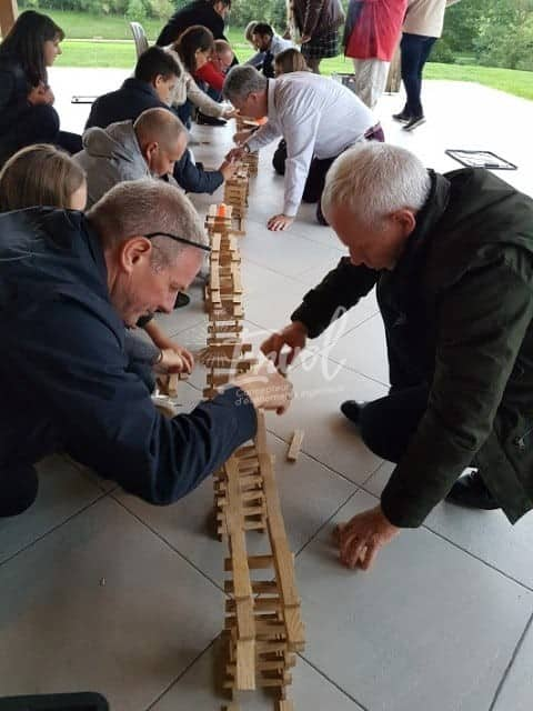 Team building Kapla Envol