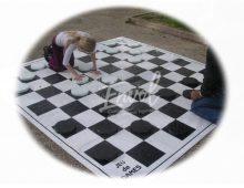jeu de dames géant