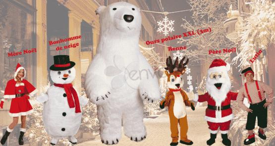 Parade de Noël (mascottes)