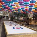 Animation piste de curling