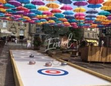 Animation piste de curling