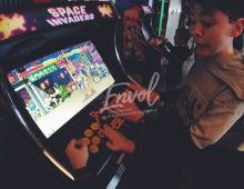 Animation borne d'arcades