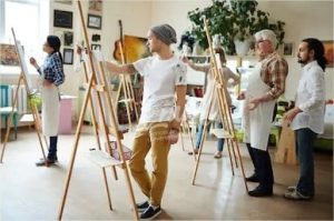 Atelier fresque participative Envol