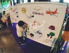 Animation fresque géante pour les enfants