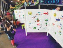 Fresque pour enfants à colorier