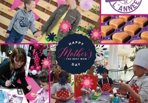 Atelier bricolage cadre photo fête des mères