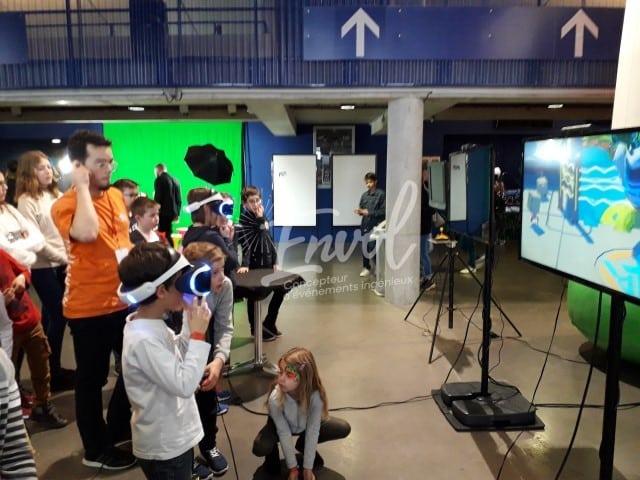Animation VR Envol